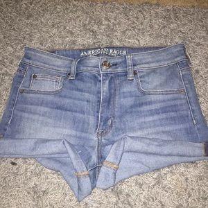 American Eagle Super Super Stretch shorts